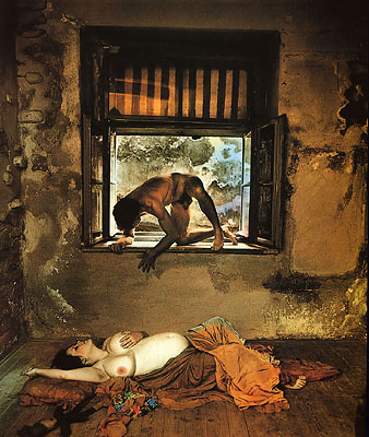 Nightmare | photographs | Jan Saudek & Sarah Saudek
