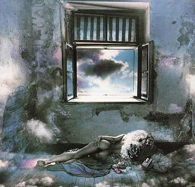 Olga in the Clouds | photographs | Jan Saudek & Sarah Saudek